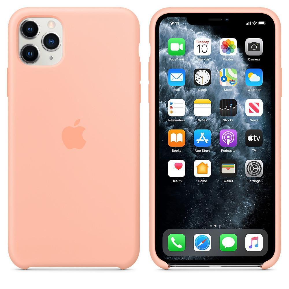 Чехол Silicone Case OEM for Apple iPhone 11 Pro Max Grapefruit