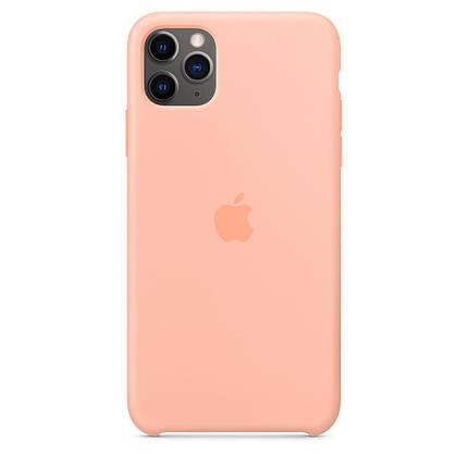 Чехол Silicone Case OEM for Apple iPhone 11 Pro Max Grapefruit, фото 2