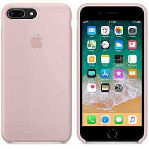 Чохол Silicone Case OEM for Apple iPhone 7 Plus/8 Plus Pink Sand
