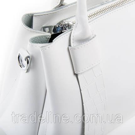 Сумка Жіноча Класична шкіра ALEX RAI 03-01 2235 white, фото 2