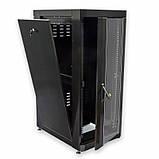 """Шкаф 19 """" 24U , 610 х 865 мм ( Ш * Г ) , черный, фото 2"""