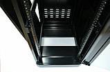 """Шкаф 19 """" 24U , 610 х 865 мм ( Ш * Г ) , черный, фото 4"""