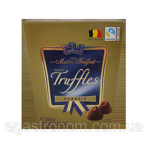 Цукерки трюфелі Маітре класичні Maitre Fruffaut classic 200g 15шт/ящ (Код : 00-00003525)