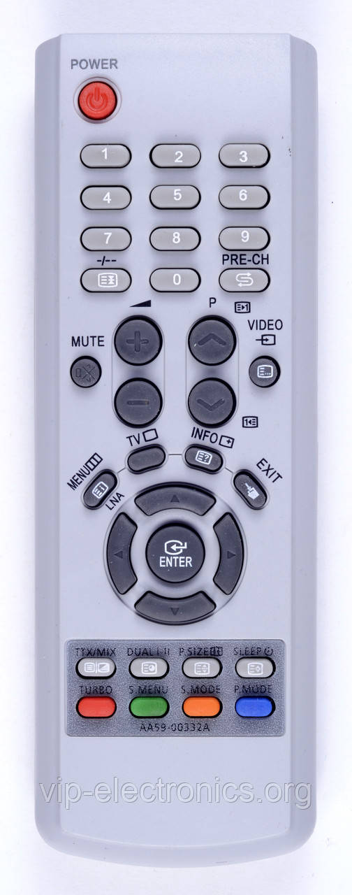 Пульт Samsung  AA59-00332A (TV) з ТХТ як оригінал