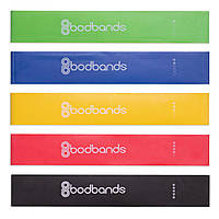 Набор резинок для фитнеса 5шт 60x5мм LOOP BANDS FI-6318