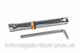 "Ключ свечной трубчатый 16мм/21мм  ""Lavita"" LA 511505 / 200мм"