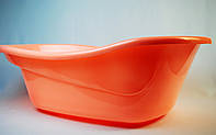 Детская ванночка нежно-рыжего цвета