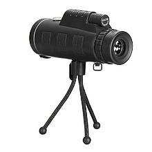 Монокуляр з триногою і кліпсою Panda Vision 40 х 60 Чорний (qdnq845870690)