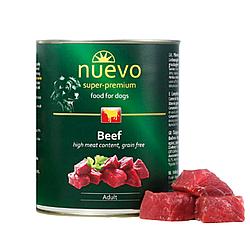 Корм консерва Nuevo Adult для дорослих собак з яловичиною 800 г