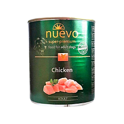 Корм консерва Nuevo Adult для дорослих собак з куркою 800 г