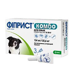 Краплі Фіприст Комбо спот он від бліх та кліщів для собак 10-20 кг 1 піп
