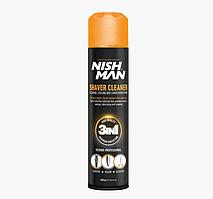 Гігієнічний спрей для інструментів 3в1 Nishman Shaver Cleaner, 300 мл (2888-7000)