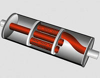 Варианты гашения шума в выхлопной системе
