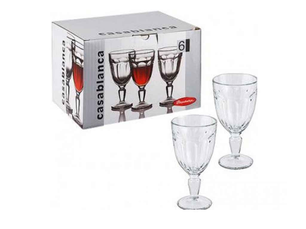 Набор бокалов для вина Pasabahce Casablanca 235 мл 12 шт (51258)