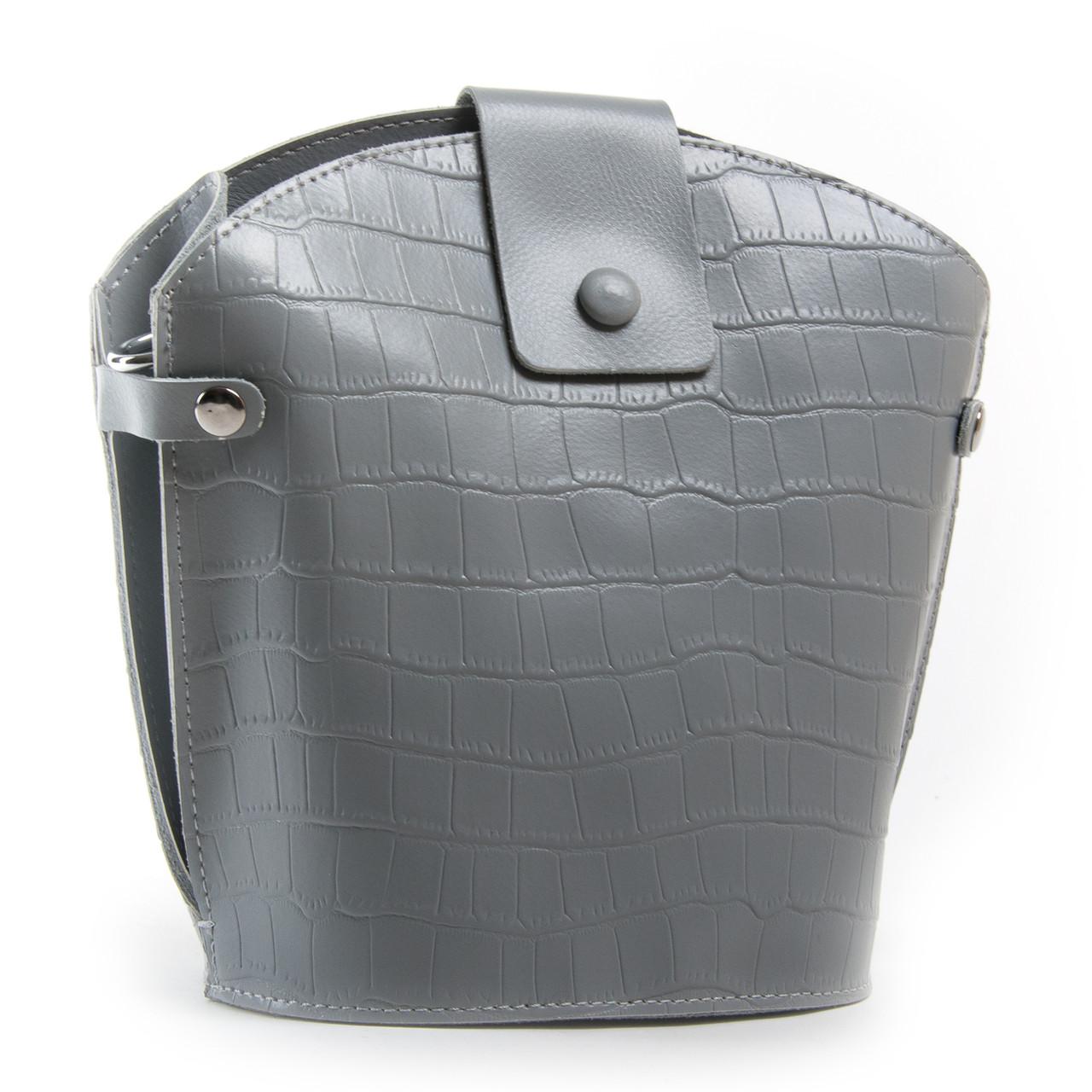 PODIUM Сумка Жіноча Класична шкіра ALEX RAI 03-01 2237 grey