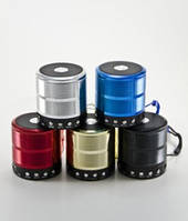Портативная колонка плеер WS-887 Bluetooth Speaker с FM-тюнером