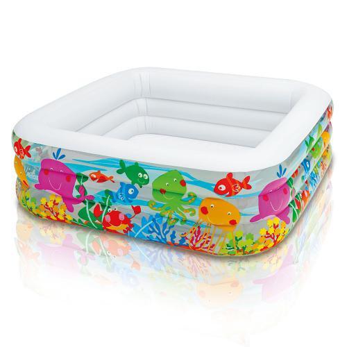 Дитячий надувний басейн Intex 57471 159х159х50см