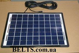 Фонарь-аккумулятор GD-8033 (солнечная система с 3 лампами, солнечной батарей и переходниками 8033)