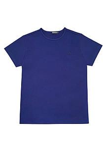 Мужская футболка Doomilai 100% хлопок (синяя) Арт.1853