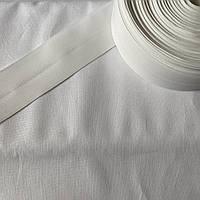 Стрічка корсажна широка біла, ширина 5 см, фото 1