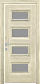 Двері міжкімнатні Тесса скло Графіт, Горіх гімалайський, 900
