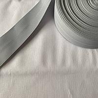 Лента корсажная широкая серая, ширина 5 см, фото 1