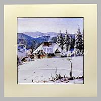 Панно настенное «Зима», 20х20, 28х28 см.