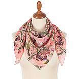 10958-3, павлопосадский платок шовковий (крепдешиновый) з подрубкой, фото 2