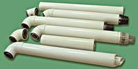 Коаксальный комплект: коаксальная труба, наконечник, угол
