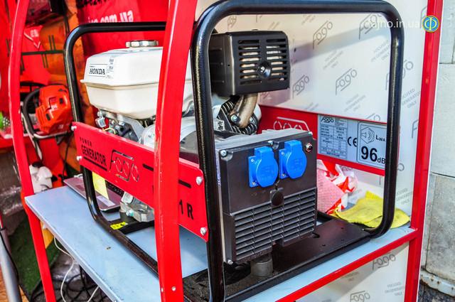 Бензиновый генератор Fogo FH 5001 E