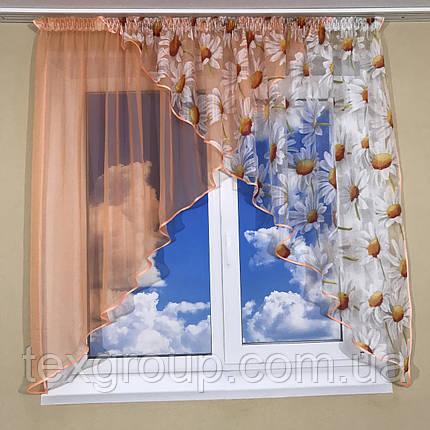 Кухонная занавеска на маленькое окно №418, фото 2
