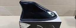 Универсальная Активная FM антенна плавник на крышу авто . Акулий плавник ФМ антенна на крышу авто / Черный