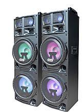 Комплект потужної акустики Ailiang UF-1288 500W (USB/FM/Bluetooth) Пара