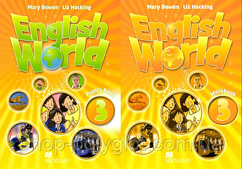 English World 3 Pupil's Book with eBook + Workbook (Підручник та робочий зошит)