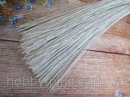 Флористична дріт в паперовій обплетенні (№ 24), 0,5 мм 60 см 50 шт/уп