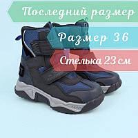 Термо ботинки для мальчика синие тм Том.м размер 36