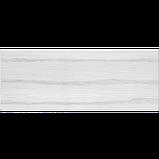 23х60 Керамическая плитка стена Альба Alba рельефная серая, фото 2