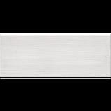 23х60 Керамическая плитка стена Альба Alba рельефная серая, фото 3