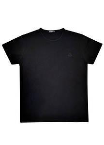Мужская футболка Doomilai 100% хлопок (черная) Арт. 1851