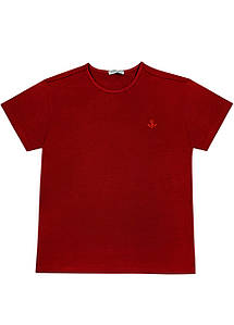 Мужская футболка Doomilai 100% хлопок (красная) Арт. 1854