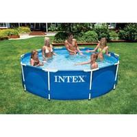 Басейн каркасний Intex 28200 Інтекс 56997 Metal Frame Pool (305х76 см)