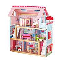 Большой кукольный домик для детей AVKO Вилла Савонна Деревянный детский для кукол Ляльковий будинок
