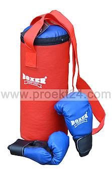 Боксерская груша, перчатки для детей (набор)