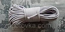 Шнур плетений 5 мм з сердечником Лаванда