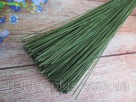Флористична дріт в паперовій обмотці (№ 24), 0,5 мм 60 см, 50 шт/уп,