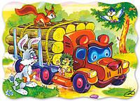"""Пазлы """"Castorland"""" 30 шт. (03238) 32*23 см (Медведь лесовоз)"""