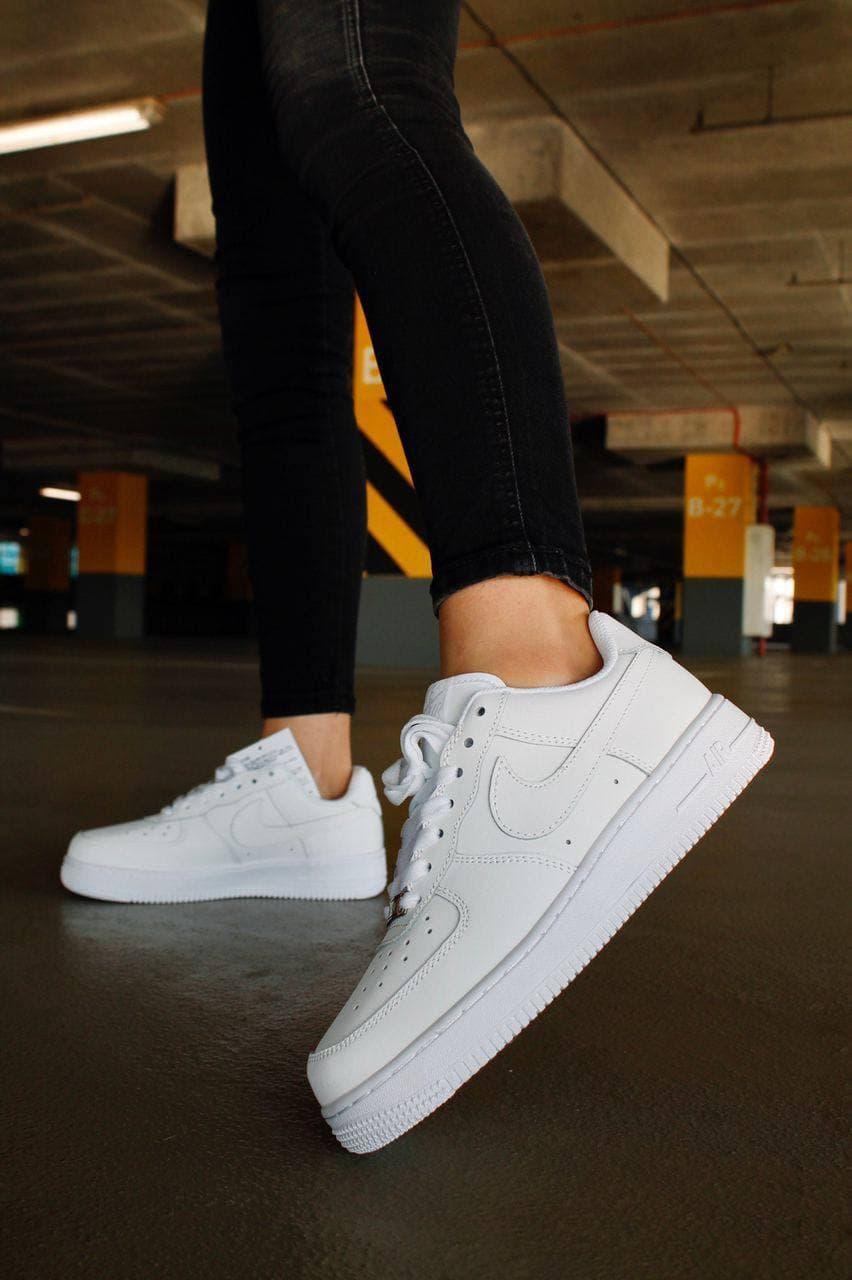 Жіночі кросівки Air Force 1 Air Force White (Білий)