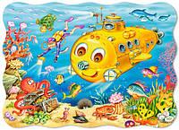 """Пазлы """"Castorland"""" 30 шт. (03396) 32*23 см (Подводная лодка)"""