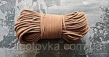 Шнур плетений 5 мм з сердечником Кориця