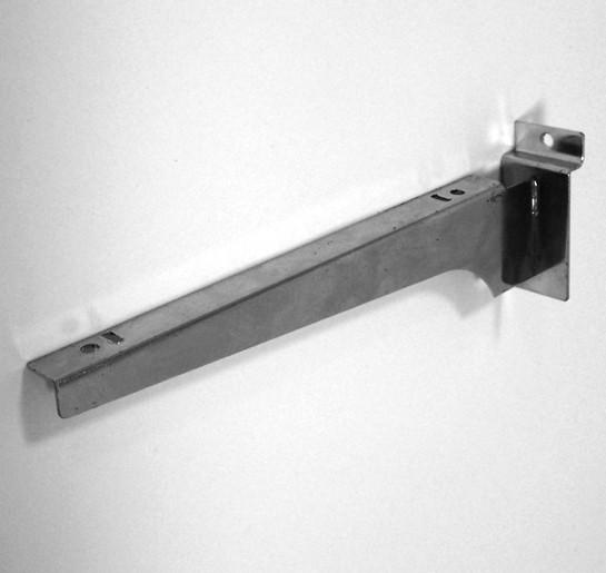 Кронштейн прямой для полки, с присосками, L=350 s1,5мм